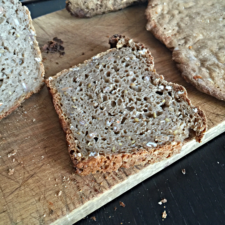 rye sourdough slice